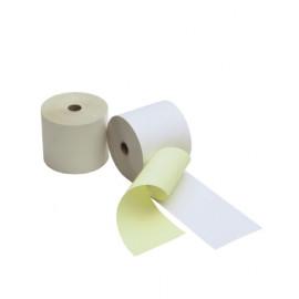 Duplorollen wit/geel 76x70x12mm - 50 rl/ds