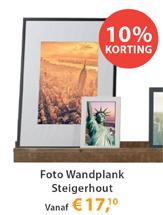 Foto Wandplank