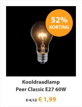 Kooldraadlamp Peer Classic E27 60W