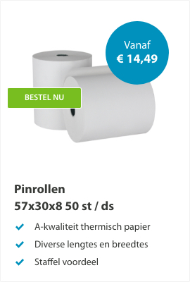 Pinrollen 57x30x8mm