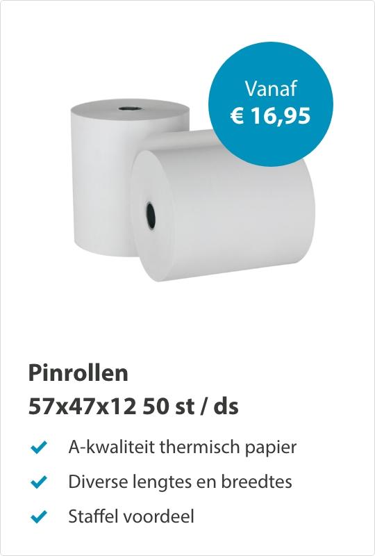 Pinrollen 57x47x12mm