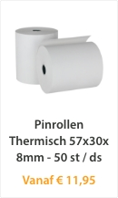 Pinrollen 57x30x8mm - 50 st/ds